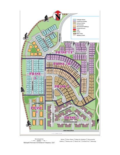 Bloomstone Plat Map